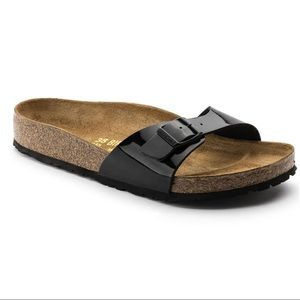 Birkenstock Madrid Birko-Flor black sandals 11